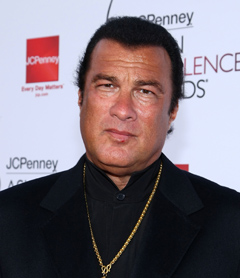 Steven Seagal Should Not Be Keeping Sex Slaves