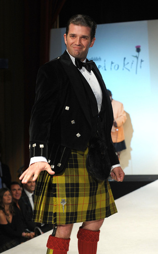 Not Every Celebrity Was Born to Wear a Kilt