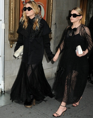 Olsen Twins Enter the 'Old Greek Widow' Phase of Adolescence