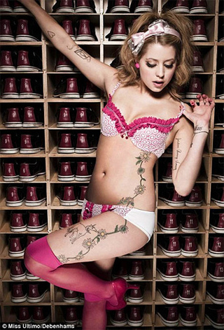 Peaches Geldof Morally Unfit to Pose in Underwear
