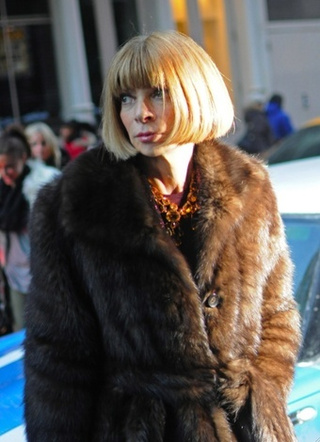 'Major Blunder' at Fashion Week Forces Anna Wintour to Stand in a Line