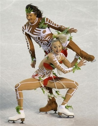 And the Gold Medal for Most Racially Insensitive Figure Skating Routine Goes to...