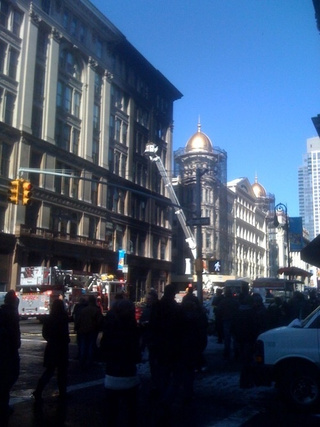 Humongo Explosion Rocks Sixth Ave.