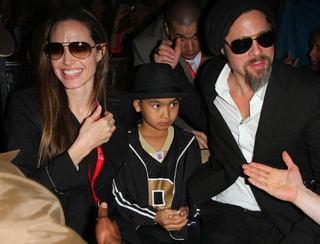 Brangelina Challenges Queen Kardashian in Super Bowl of Photo Ops