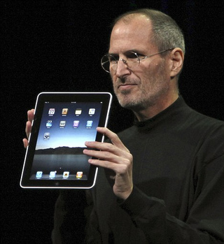 Steve Jobs Still Spreading Magic iPad Dust Around New York Print World