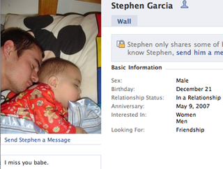 Dad's Murder-Suicide of Infant Son Documented on Facebook, Personal Website