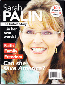 Unauthorized Magazine Written in Sarah Palin's Voice Is Keeping Old Media Alive
