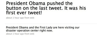 Barack Obama's First Tweet (And His Enemy's Punishment)