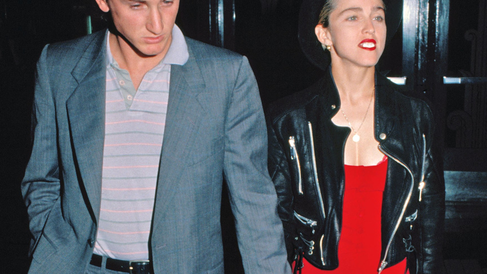 Madonna and Sean Penn Laughing, Presumably at a Good Dick Joke Involving Madonna
