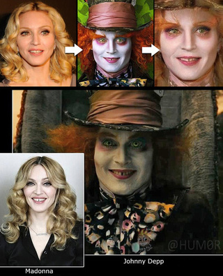 The Johnny Depp Mad Hatter Rorschach Test