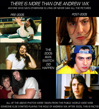 Andrew W.K. and the Problem of Identity