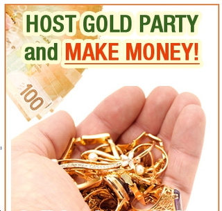 We'll Never Be Poor As Long As We Keep Having Gold Parties
