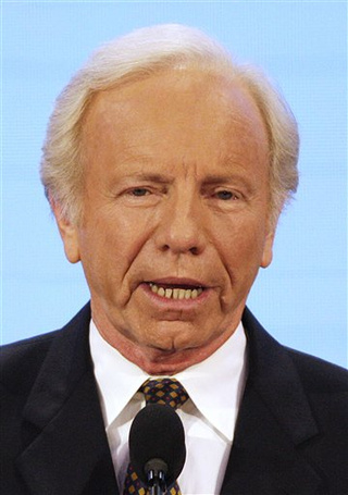 Just When You Thought Joe Lieberman Couldn't Get Any Worse