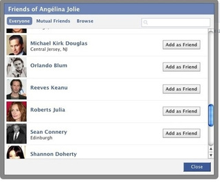 Facebookarazzi: Stalking Celebrities Just Got a Whole Lot Easier