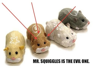 "The Plot to Take Down America: Zhu Zhu Christmas Hamsters AKA ""Mister Squiggles"""
