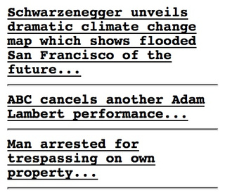 When White People Are Arrested on Their Own Property, Matt Drudge Is There