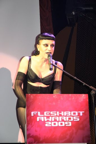 Levi Johnston Meets the Press at the Fleshbot Awards