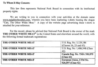 The National Pork Board Does Not Endorse Eating Cats
