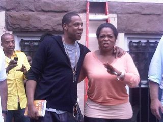 Public Service Announcement: Jay-Z, Oprah, Hanging Around Marcy Projects