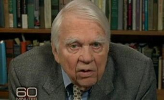 Andy Rooney Finally Says Goodbye To Walter Cronkite