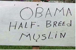 It Is Impossible to Convince the Bitters That Barack Obama Is Not a Muslim