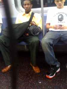 Subway Rider Offers To Help Man Put Penis Back Into Pants