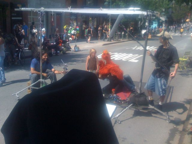 Sesame Street Taking On Williamsburg Hipsters, Live!