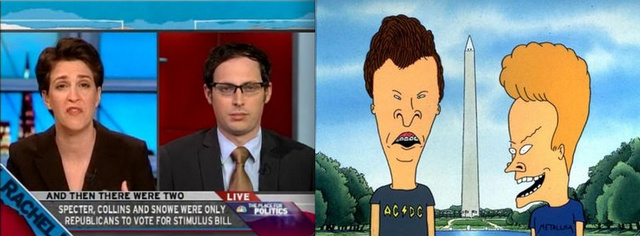 Nate Silver is Beavis, No?