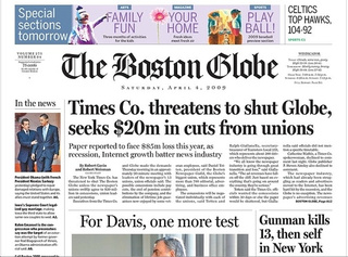 Boston Globe's Death Is Now An Option