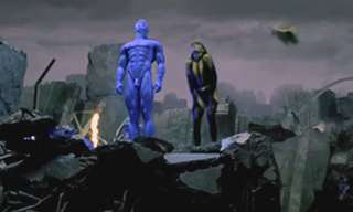 'Watchmen' Brings Its Full CGI Power To Bear on Billy Crudup's Exposed Wang