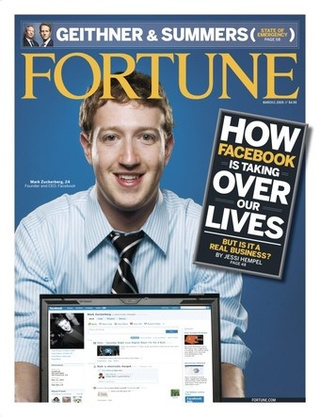 Facebook Gets the Fortune Cover Curse