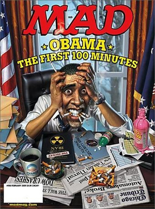 MAD Magazine Going Quarterly