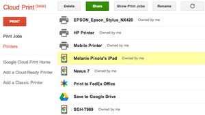 Use Google Cloud Print to Quickly Save Files as PDFs on Your Mobile Devices