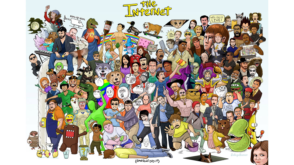 Can You Name All The Memes In This Internet Orgy Of A Poster?