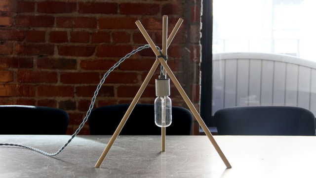 Click here to read Make a Surprisingly Stylish Lamp Out of Three Sticks and a Lightbulb