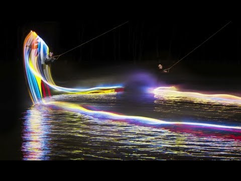 Click here to read Night Wakeboarding with Light Boards Paints Gorgeously Mesmerizing Pictures