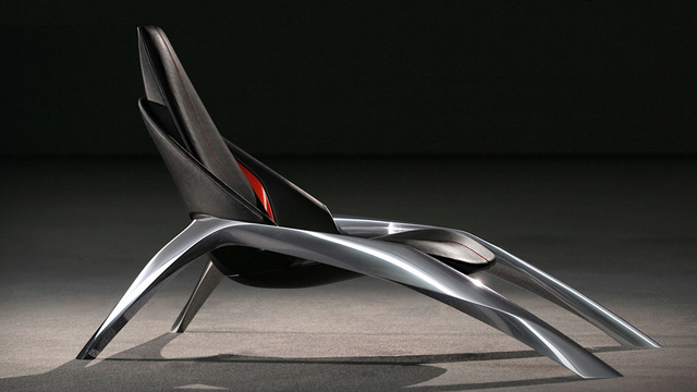Click here to read Mazda Wants This Sleek Spider Chair Creeping Across Your Living Room