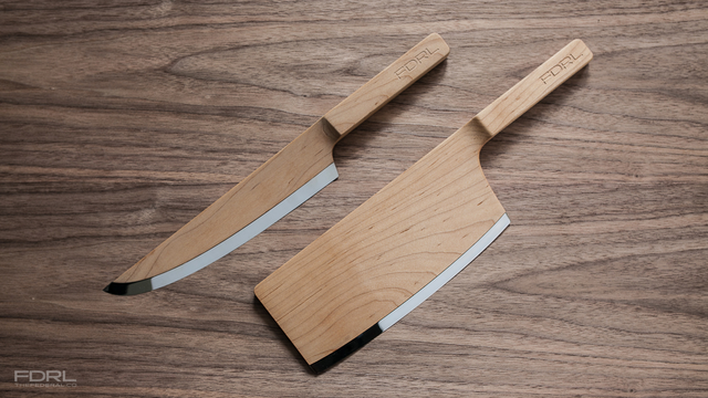 Click here to read These Wooden Kitchen Knives Look Amazing, But Would You Use Them?