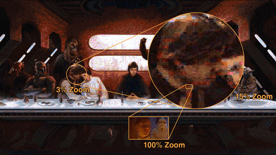 New Star Wars' Last Supper Mosaic Is Insanely Huge