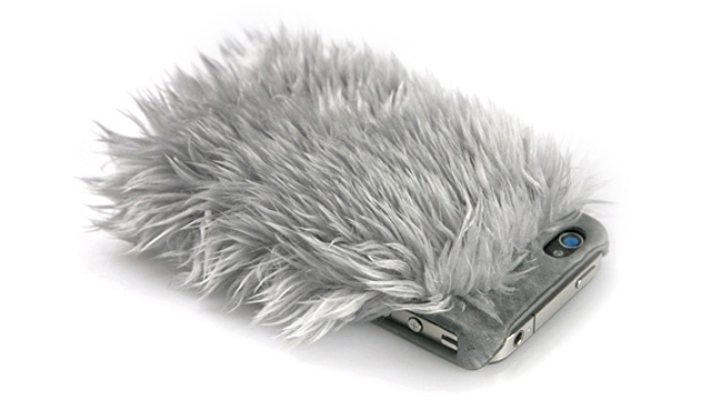 Ridiculous Fur Case Adds Brushing To Your iPhone Cleaning Ritual