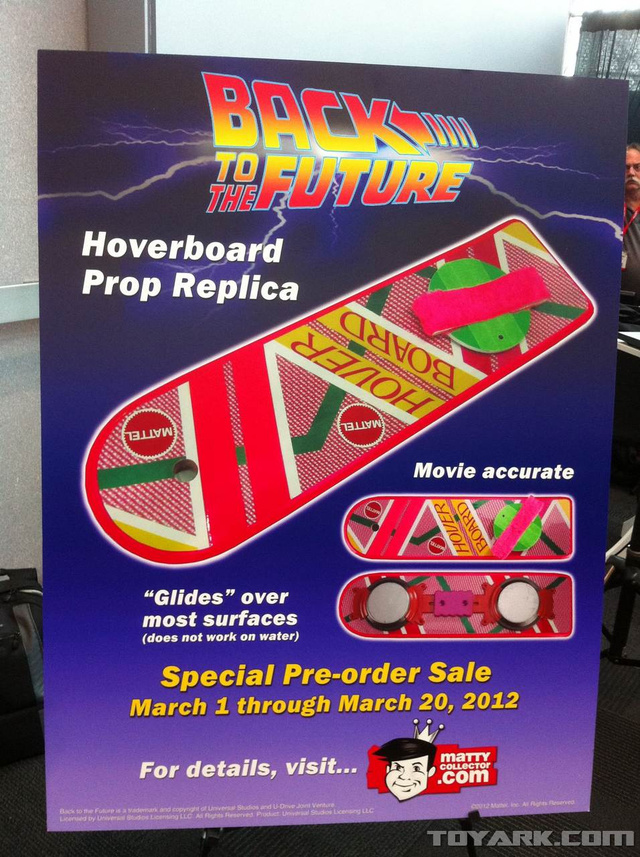Mattel Is Finally Making the Back to the Future Hoverboard