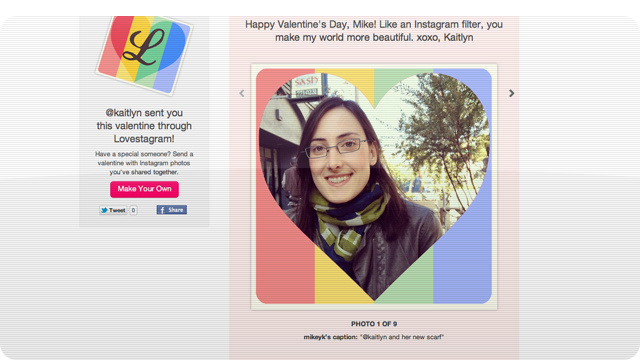 Use Your Instagram Photos To Make Sweet Love