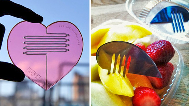 Celebrate Valentine's Day With This Highly Evolved Heart-Shaped Spork
