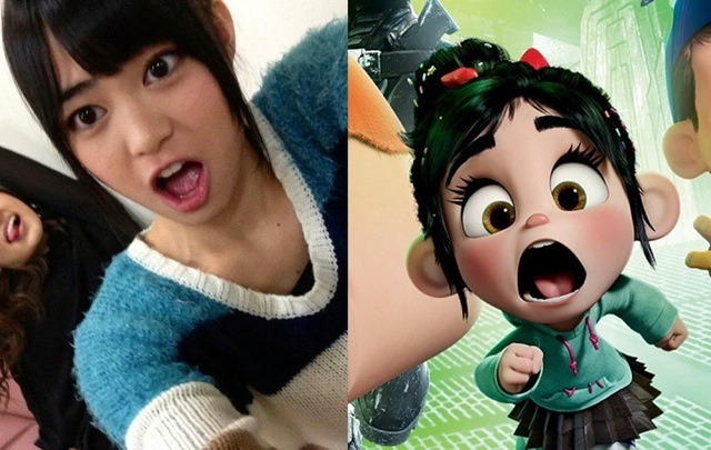 This Wreck-It Ralph Character Looks Just Like...a Real Japanese Popstar