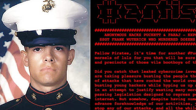 Anonymous Leaks Marine Corps Massacre Case (Updated)