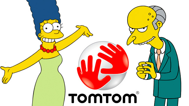 Turn Your TomTom Into Marge or Mr. Burns—Excellent!