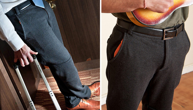 Goodbye Sliced Bread: Dress Pant Sweatpants Officially The Greatest Thing Now