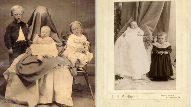 Can You Find the Hidden Mothers in These Old Photographs?