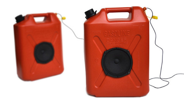 How To Make Your Own Jerrycan Speakers