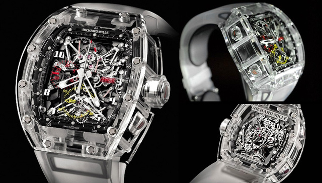 This Watch's See-Through Sapphire Housing Will Cost You $1.65 Million